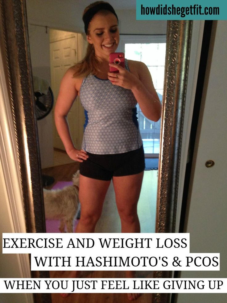 Overcoming exercise + weight loss with hormonal imbalances like PCOS and Hashimoto's
