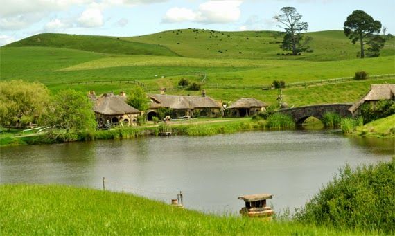 36. THE LORD OF THE RINGS - #hobbiton #new #zealand #newzealand #lordoftherings