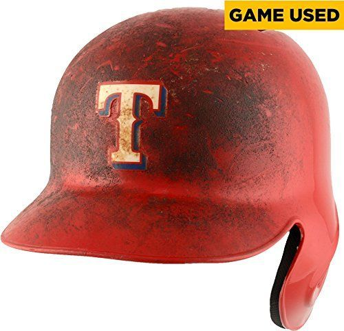 Bryan Holaday Texas Rangers Game-Used