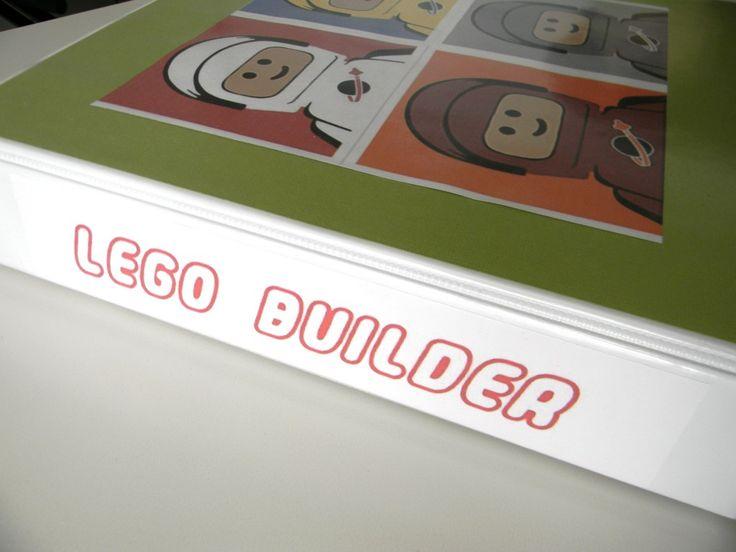 lego instruction binder: Hunter, Lego Binder1, Good Ideas, Everything Ideas And, Lego Booklet, Lego Ideas, Lego Instructions
