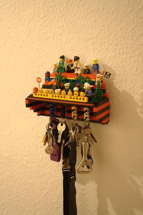 Lego key holder!