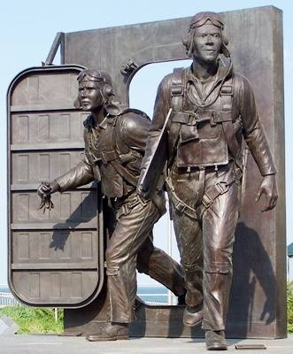 The Naval Aviation Monument 25th Street along the boardwalk**** been there, took this pic!****
