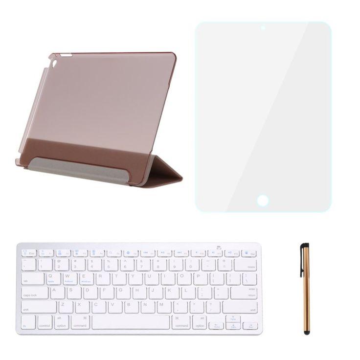ราคาดีๆ<SP>Leather Smart With Bluetooth Keyboard Case Cover For iPad Air 2 - intl++sport10 Leather Smart With Bluetooth Keyboard Case Cover For iPad Air 2 - intl Operating voltage: 3.0V Operating current: 4mA RF output power: 4dBm Max(Class 2) Operating distance: Up to 10m Class 2 t ...++