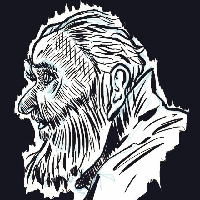 100 stylized portraits number 43