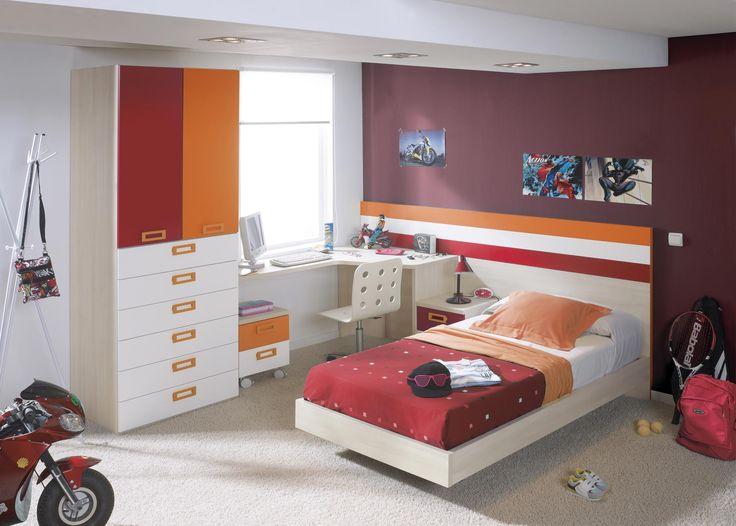 El diseño de nuestros productos son tendencia. Descubre nuestras habitaciones juveniles en todos los colores que puedas imaginar. #bed #decoración #hogar #diseño #tendencia