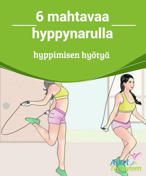 6 mahtavaa hyppynarulla hyppimisen hyötyä   #Naruhyppely ei ole ole vain hauskaa, se on myös tehokas keino pysyä kunnossa ja #kasvattaa sekä keuhkojen tilavuutta että fyysistä #kestävyyttä.  #Terveellisetelämäntavat