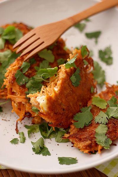 Galettes carottes - flocons d'avoine