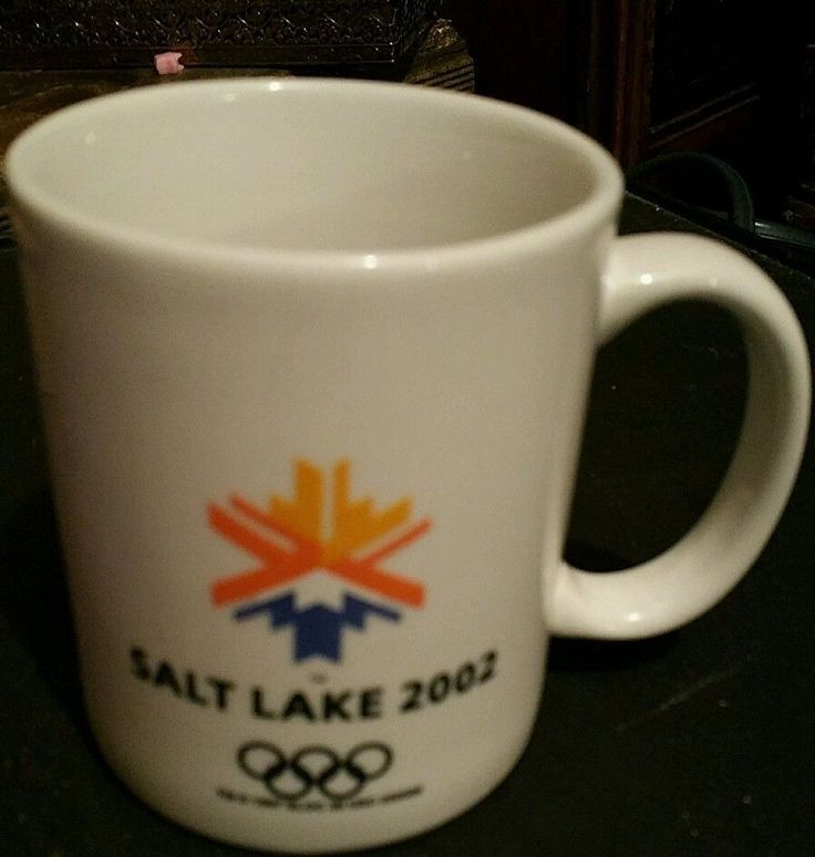 Salt Lake City 2002 1997 Olympic Games Coffee Mug Cup Utah