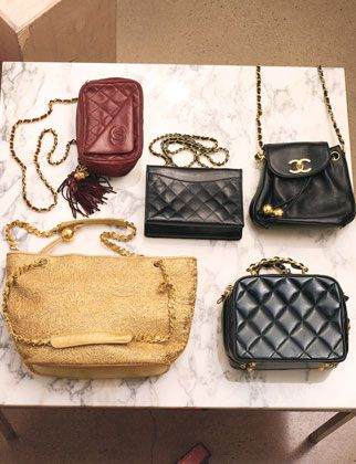Vintage 1970s Chanel bags... If only I was 165% more glamorous...: Fashion Designer, Chanel Handbags, Chanel Bags, Vintage Chanel Bag, Designer Handbags, Chanel Collection, Vintage Bag, Chanel Vintage