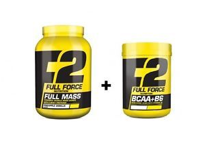Gainer aumento peso +BCAA 150 compr.FULL FORCE | eBay