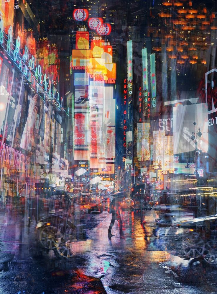 1X - Times Square by Stephanie Jung