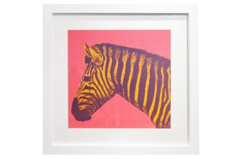 Framed Zebra Print available at meizai