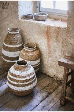 Hartwerck   baskets - manden Buhera Gourd Zimbabwe