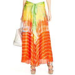 Silk Beatriz Skirt - Black Label  Maxi Skirts - RalphLauren.com