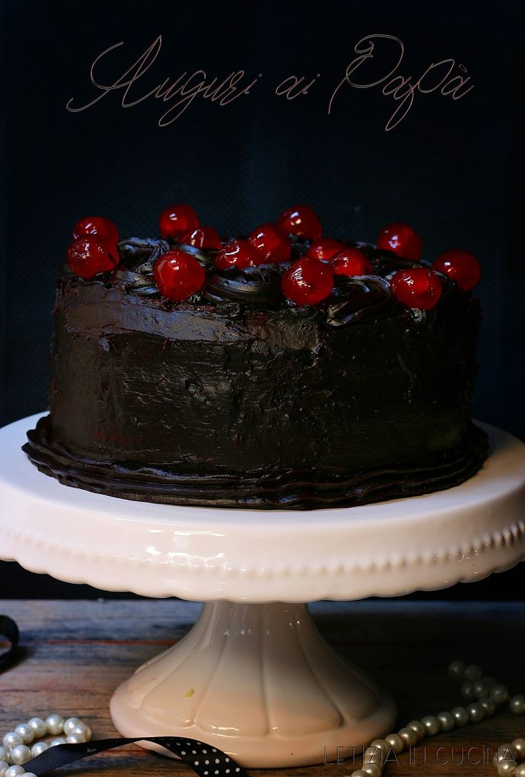 Letizia in Cucina: Simil Black out cake