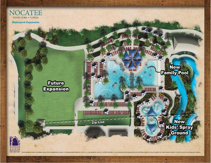 The new Family Pool at Nocatee is an expansion included in existing Splash Water Park.