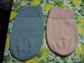 basta un filo........ lavori a maglia per bambini: SACCO NANNA PREMATURI