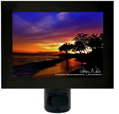 """Healing Hawaiian Sunset"" Hawaii Night Light by Robyn Nola."