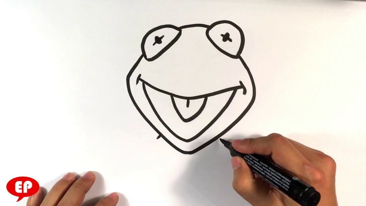 How to Draw Kermit the Frog - Easy Pictures to Draw You don't even have to consider yourself an artist to be able to draw him. I'm going to go through and draw more muppets. Please let me know your thoughts and if the tutorial was easy enough and easy pictures to draw. Thank you so much and have a great day. #arttutorials #artlessonsonline #artlessonsforfree #learntodrawathome #learntodrawonline #easystufftodrawforbeginners