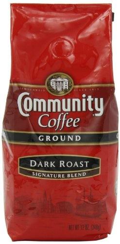 Community Coffee Ground Coffee, Dark Roast «  My FAVORITE!!!!!