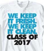 IZA DESIGN.  Senior Class Shirts Specialist since 1987.  The Original Senior Class T Shirt - Just That Good clas-860b9.  Class of 2017 Senior Class tshirts.  Customize for your senior class - change text and colors to reflect your school.