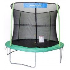 Trampolines & Parts: JUMPKING 10' COMBO WITH JK LOGO - 4 LEGS/4POLES/G3 FRP