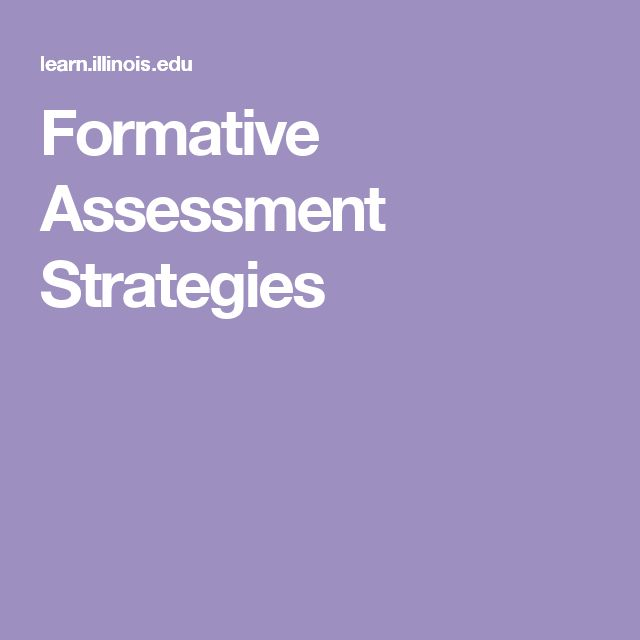 Formative Assessment Strategies Teacher Things - Resources