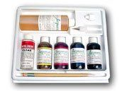 This kit is an excellent way to get started in the beautiful art of painting on silk.