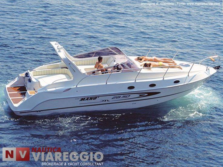 #ManoMarine #28.50Sport  - http://www.nauticaviareggio.com/schedausato.asp?Id=376