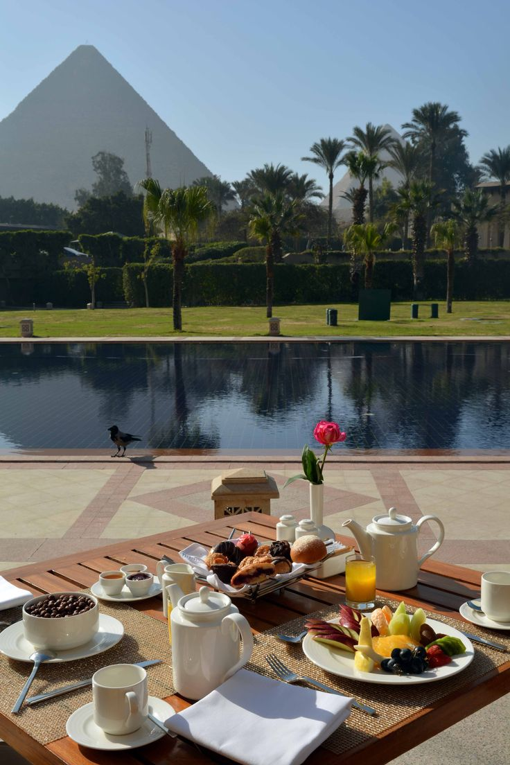 The Idyllic way to start your day. Breakfast at 139 Pavilion.  www.menahousehotel.com