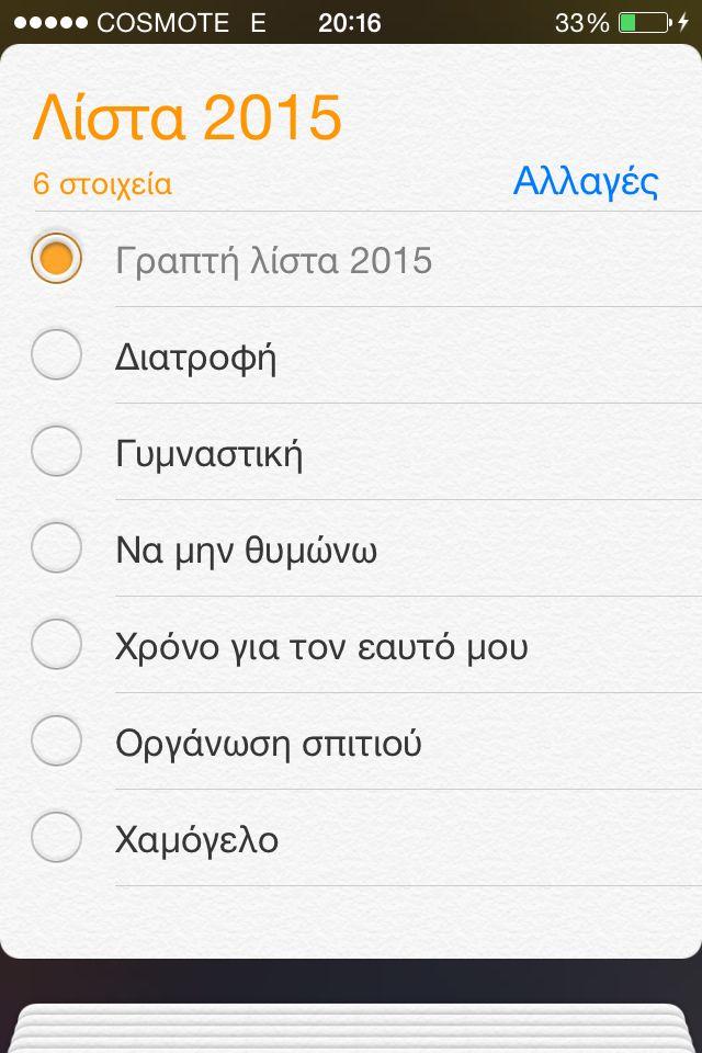 Η λίστα μου για το 2015!!! | Anastasias Beauty Secrets