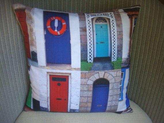 cushion cover in designer doors fabric , superb design �10.50