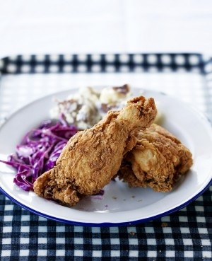 Local Harvest Cafe & Catering Chef Clara Moore's Fried Chicken - FEAST Magazine   Inspired Food Culture/St. Louis: Recipes
