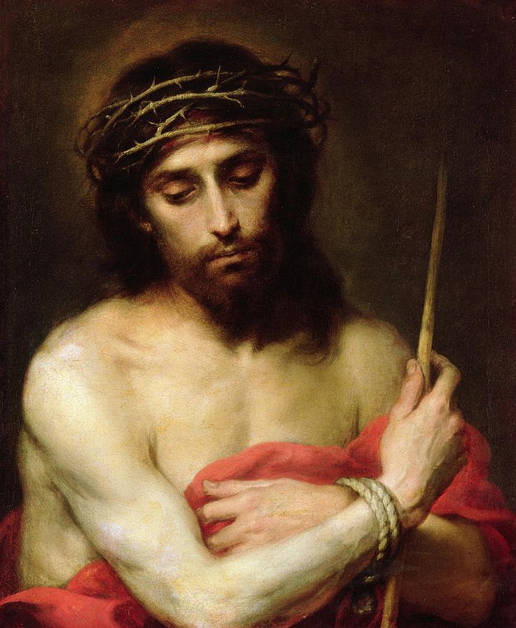 "http://images.fineartamerica.com/images-medium-large-5/christ-the-man-of-sorrows-bartolome-esteban-murillo.jpg ""Christ the Man of Sorrows"" by Bartolome Esteban Murillo"