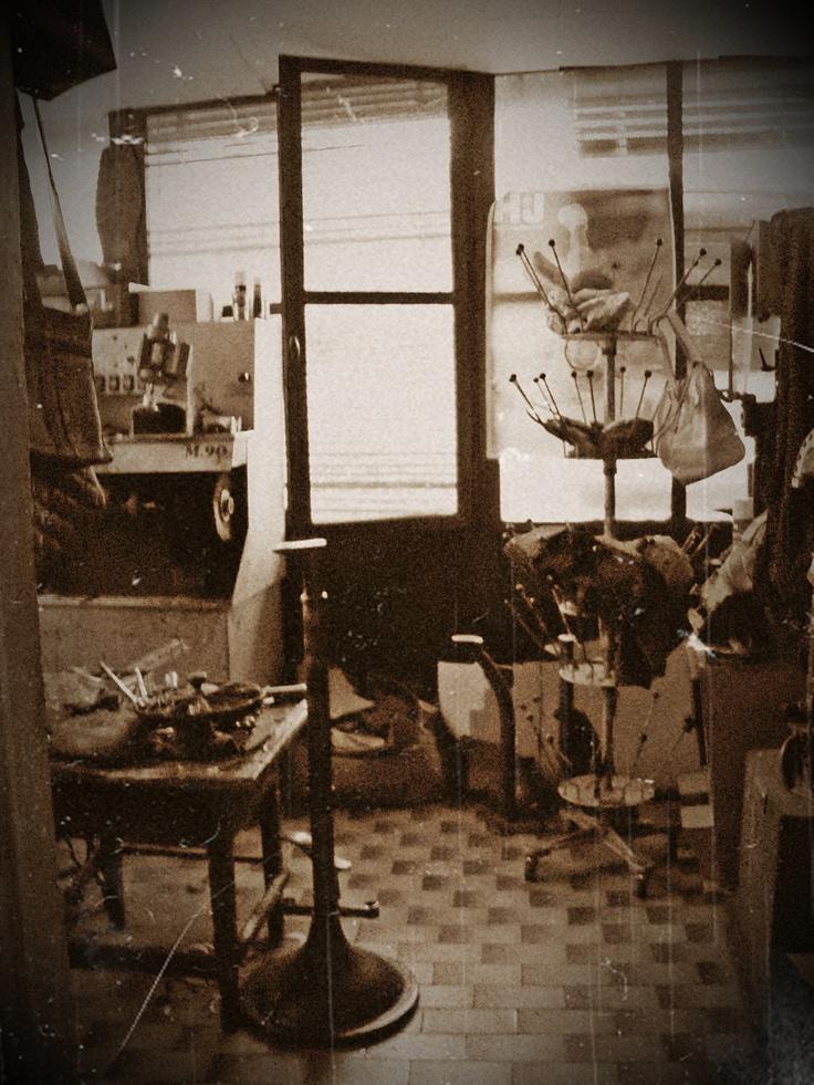 il laboratorio del ciabattino