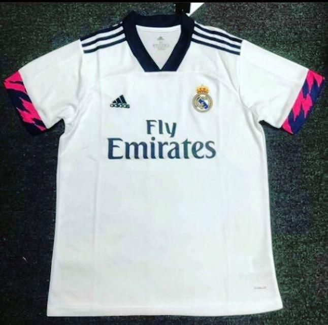 Not Confirmed Real Madrid Home Kit 2020 21 Season In 2020 Real Madrid Home Kit Real Madrid Real Madrid Basketball