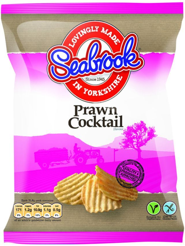 Seabrook announce that they are to restore the gluten free labelling to their crisp packets