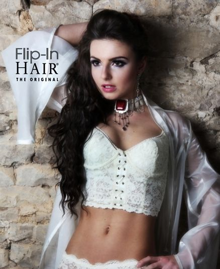 Flip-In Hair Extensions transform short, thin hair into long, luscious locks that you can style like your own. Are you a stylist or salon interested in becoming a stockist? Message us on Facebook @flipinhair! #flipinhair #flipin #hair #extensions #beauty #beautiful #photography @clarelouiseuk