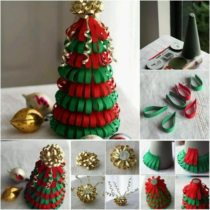 9 Epic Diy Projects Ideas 10 Diy Ideas Christmas Tree Decorations Diy Diy Paper Christmas Tree Diy Tree Decor