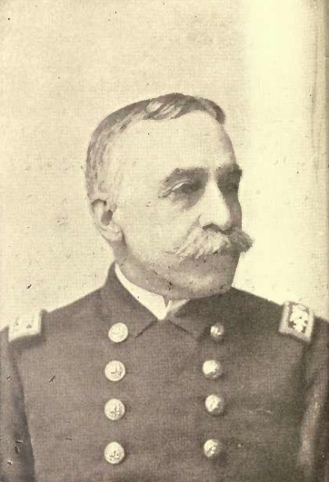 Commodore George Dewey during the Spanish-American war. He returned to America to a hero's welcome, and by act of Congress was promoted to the special rank of Admiral of the Navy in 1903 with his date of rank retroactive to 1899.