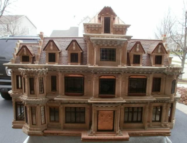 over The Top doll house 4