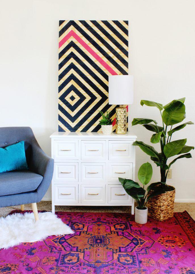 Interior Design Diy Art Diy Art Popular Diy Wall Intended For 9