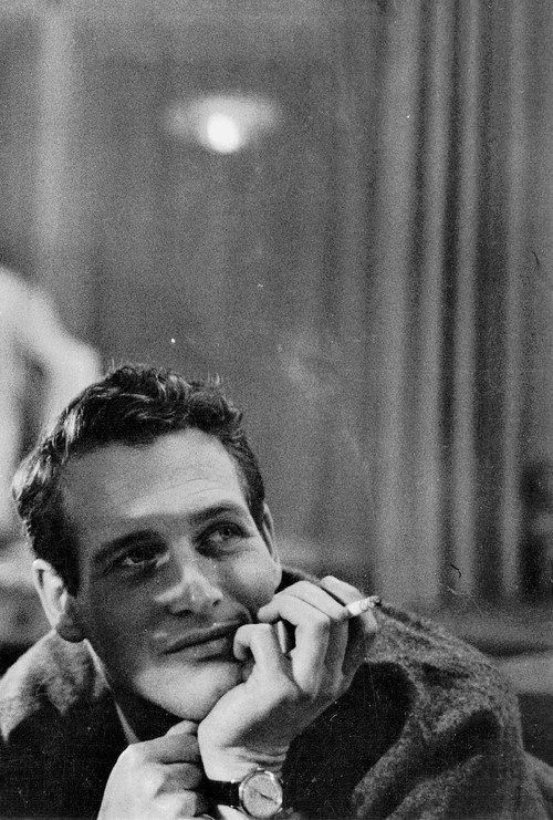 Dreamy. Paul Newman, c. 1958.