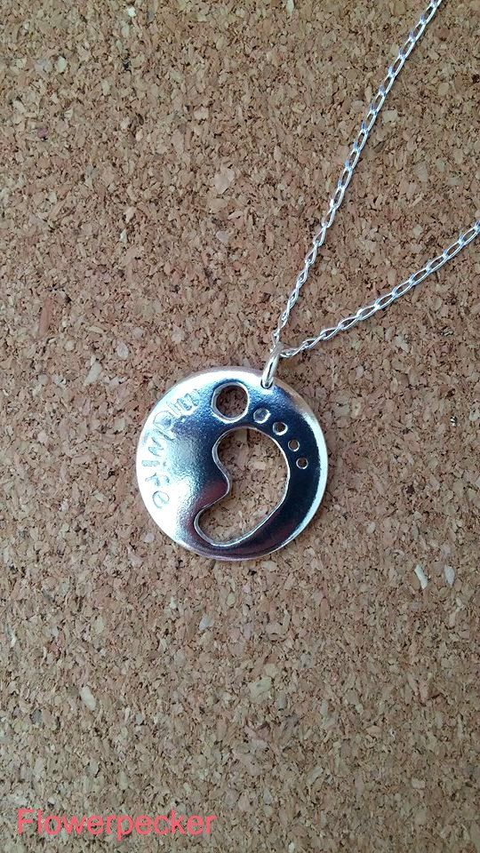 Midwife Necklace Midwife Pendant New Mom Gift by flowerpecker