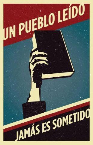 Un pueblo leído...
