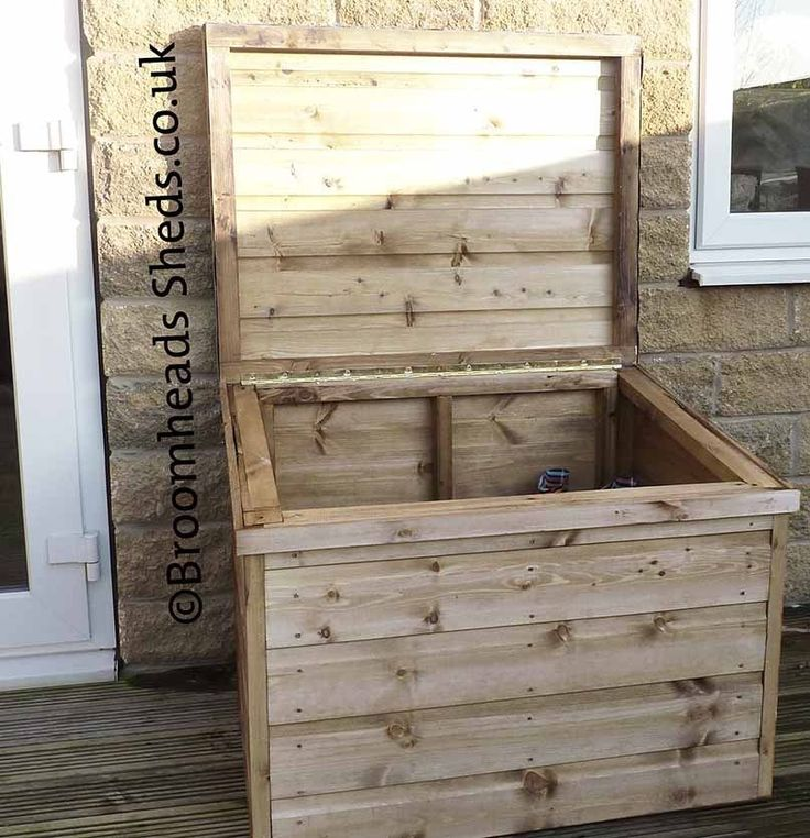 12mm Tanalised Timber wood boot box chest wellies salt parcel storage