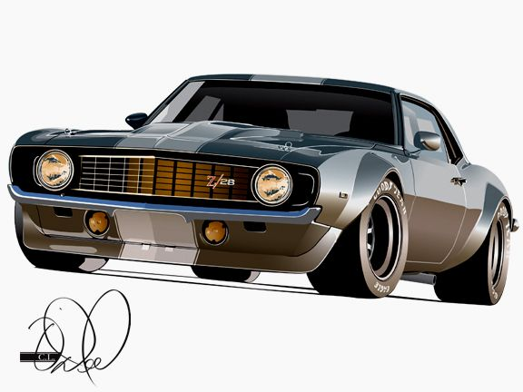 Hot Rod Camaro By Cityofthesouth On Deviantart American Muscle