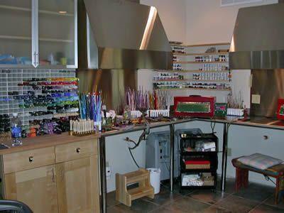 Lori Greenberg S Lampwork Studio Lampwork Studios