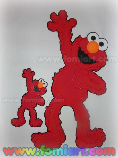 Elmo Plaza Sésamo En Fomiart