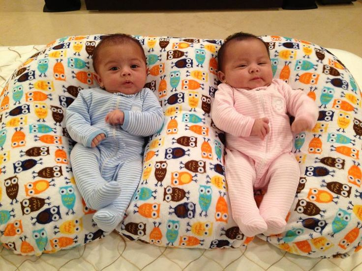 Twins- boy+girl-- I didn't know they made the Z pillow for twins!